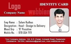 company id card templates business id card template free elegant corporate fice id card psd
