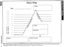 Story Map Template Map Printable Story Map Template 15