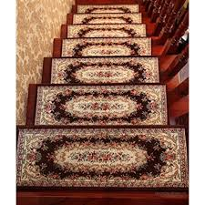 carpet stair treads runner rug pad set of 5 staircase pad step solid wood staircase pad