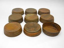 Decorative Mason Jar Lids Wide Mouth Decorative PrimitiveRustic Mason Jar Lids 9