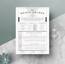 Etsy Resume Resume Template CV Template Cover Letter For Word 24 Page 19