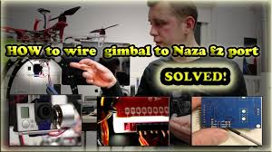 how to wire goodluckbuy gimbal pitch control very easy how to wire goodluckbuy gimbal pitch control very easy