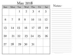 calendars with notes may 2018 monthly calendar images designs blank free calendar