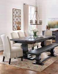 stylish black and white dining table art plus best 25 upholstered dining dining room table with upholstered chairs plan