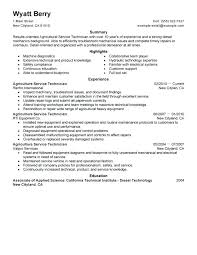 Mechanic Sample Resume Best Service Technician Resume Example ...