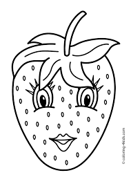 Cute Fruit Coloring Pages 2019 Open Coloring Pages