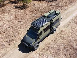 All new for the mercedes sprinter high roof is the aluminess modular roof rack! Mercedes Benz Sprinter Turned Into An Off Grid Overlander Camper Van
