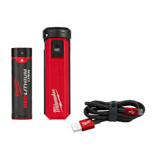 Milwaukee <b>USB</b> Rechargeable <b>Portable</b> Power Source and <b>Charger</b> ...