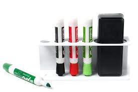 dry erase marker holder tray for whiteboards white diy dry erase marker holder