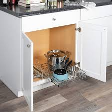 Slide Out Kitchen Cabinets Kitchen Exciting Rev A Shelf Lowes For