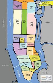 nyc manhattan neighborhood map