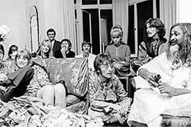Image result for beatles india photos
