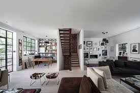 Modern Interior Design Also Design Interior Spacious Family Room With Minimalist  Home Staircase Design And White