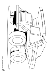 Coloriages Coloriage Dun Camion Chantier Benne Source Lmj Engins