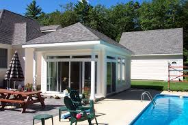 House Plans Ideas  Best Small Pool House Plans With Bathroom Small Pool House Designs