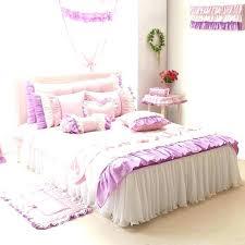 light pink ruffle bedding ruffle bedding set purple ruffle duvet covers purple pink white girls ruffle