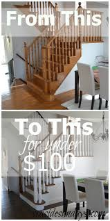 Redo Stairs Cheap Amazing Tips For Painting And Staining Stairs Paint Stairs