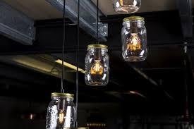 mason jar pendant lighting. Mason Jar Feature Light Glass Fixture Pendant Lighting O
