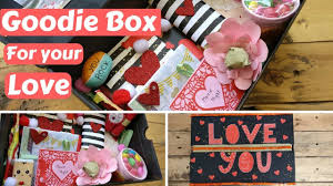 diy valentine s day birthday gift goo box care package for your boyfriend girlfriend husband wife