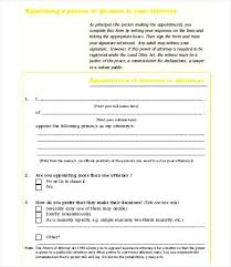 Free General Power Of Attorney Form Papers Printable Medical Forms ...