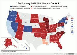 u s senate outlook favors democratic majority in 2016