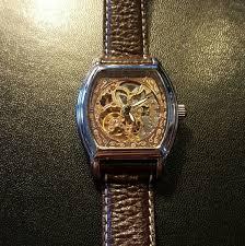 louis bolle louis bolle men s steampunk look watch from gladys s louis bolle men s steampunk look watch