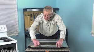 frigidaire range repair how to replace the inner oven door glass