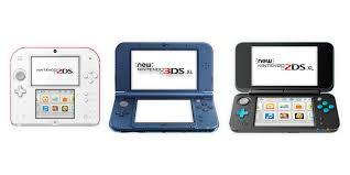 Colour Range Nintendo 3ds Family Nintendo