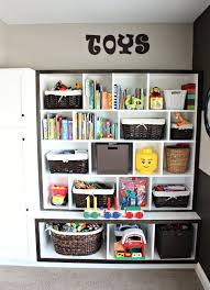 Toy storage ideas living room for small spaces. Learn how to organize toys  in a