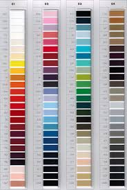 Serafil Color Chart Hfk Agency Inc