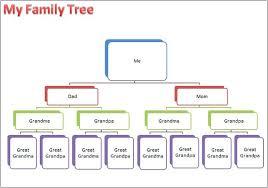 Family Tree For Microsoft Word Moontex Co