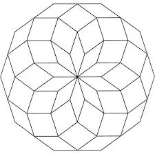 Small Picture Geometric Designs Coloring Pages Free Geometric Coloring Designs