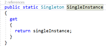 Singleton Pattern C Awesome Singleton Design Pattern In C Part Two Eager And Lazy