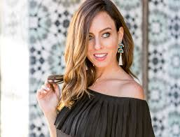 sydne style wears stella dot rosalind chandelier earrings for summer jewelry trends