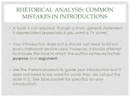 rhetorical analysis essay ppt  2 rhetorical