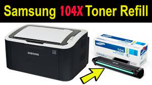 Toner + chip samsung ml1660. How To Refill Samsung 104x Toner Used For Ml 1660 1665 1865w 1666 1667 1675 1865 Scx 3205w Youtube