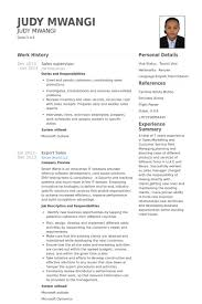 Sales Supervisor Resume Samples Visualcv Resume Samples Database