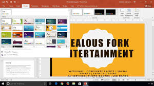 Powerpoint 2016 Learn How To Change Themes And Variants