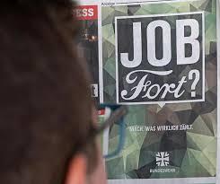 Job Anzeige Des Verteidigungsministeriums Respektlos Ford