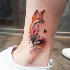 красивые татуировки для девушек на ноге идеи 2018