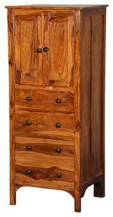 tall wood storage cabinet. Wood Storage Cabinets Rustic Solid 56\u2033 Tall Cabinet W 4 Drawers T