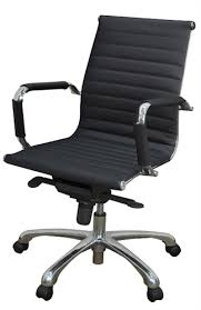 Eames style office chairs Soft Pad Regency Eamesstyle Office Chair Vqv Furniture Group Regency Eamesstyle Leather Office Chair