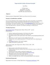 Resume Sample For Cashier Position Cover Letter For Cashier Resume Sample At Supermarket Cv 19