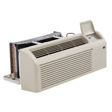 Through The Wall Heating And Cooling Units Amana 11600 Btu R 410a Window Heat Pump Air Conditioner With 35