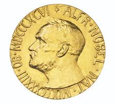 The nobel prize is a set of annual international awards bestowed in several categories by swedish and norwegian institutions in recognition of academic, cultural, or scientific advances. A Nobel Peace Prize Medal