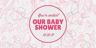 baby shower invitations for girls templates customize 833 baby shower invitation templates online canva