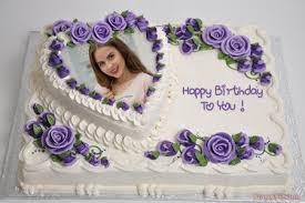 Photo On Birthday Birthday Cake With Love