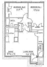 2 Bedroom Apartment Floor Plans U0026 Pricing U2013 Ridgemar Commons Apartments Floor Plans 2 Bedrooms