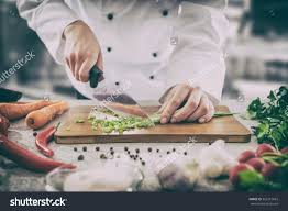 Chef Guy Kitchen Decoration Chef Cooking Food Kitchen Restaurant Cutting Stock Photo 562219663
