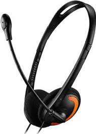 <b>Наушники Canyon CNS-CHS01BO</b> черный-оранжевый